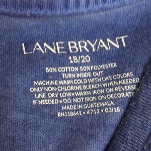 Lane Bryant Tops - Plus Size Lane Bryant Cold Shoulder T!